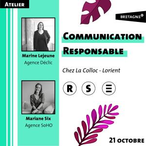 Atelier - Communication Responsable
