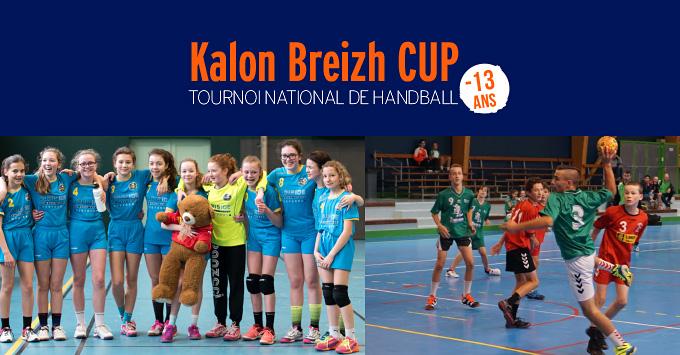 Kalon Breizh Cup - tournoi de hanball pour les moins de 13 ans